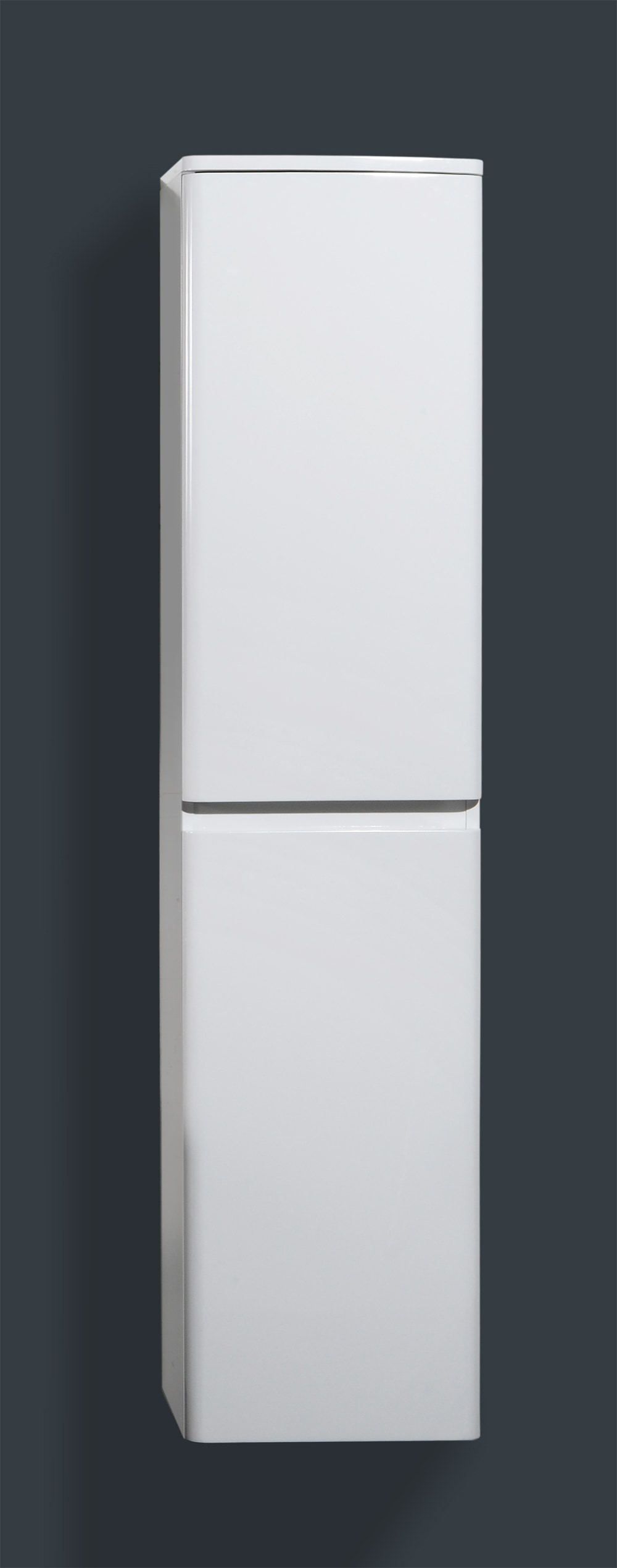 """Modern / 16"""" W x 60"""" H x 12"""" D / Wall-Hung / Painted / Soft-Closing / High Gloss Bathroom Side Cabinets - Avanti Collection 0"""