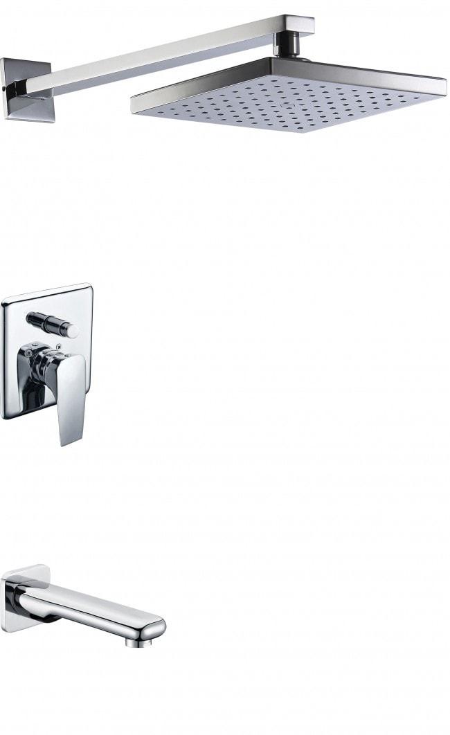 Camelia / Lead-Free / Ceramic Cartridge / Chrome Shower Faucets 0