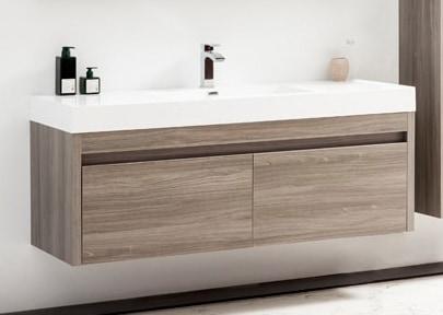 Golden Elite Cabinets Bathroom Vanities Labrador Maple Grey