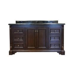 Golden Elite Cabinets Bathroom Vanities   Megan Dark Walnut Collection