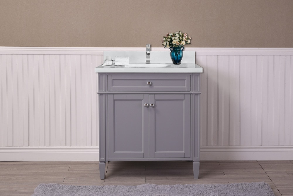 Superb Bathroom Vanities Sorel White Interior Design Ideas Pimpapslepicentreinfo