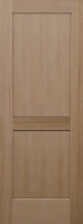 h2ps_57e01faa9e9bd & Viewpoint Doors VG Hemlock 2 Panel Shaker Vertical Grain Hemlock ...