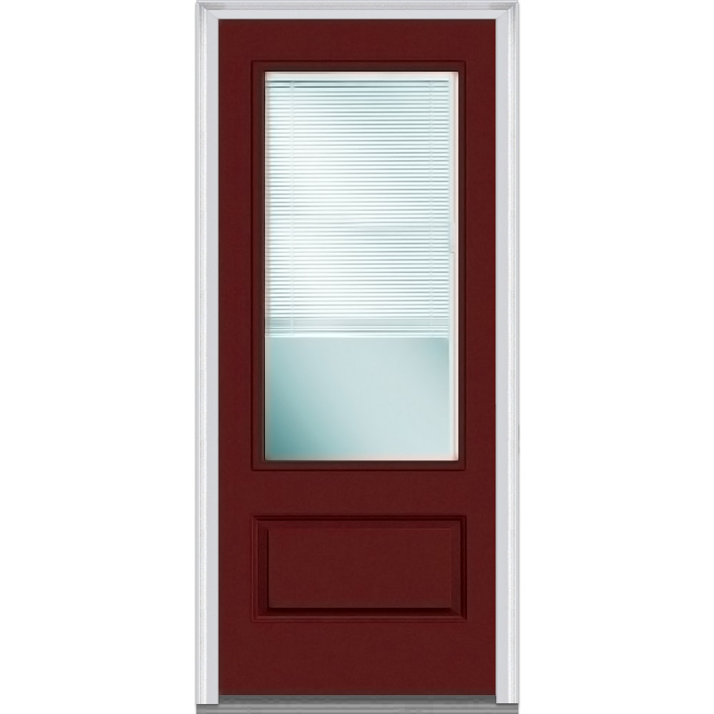 Exterior Doors Product : Doorbuild internal blinds collection fiberglass smooth