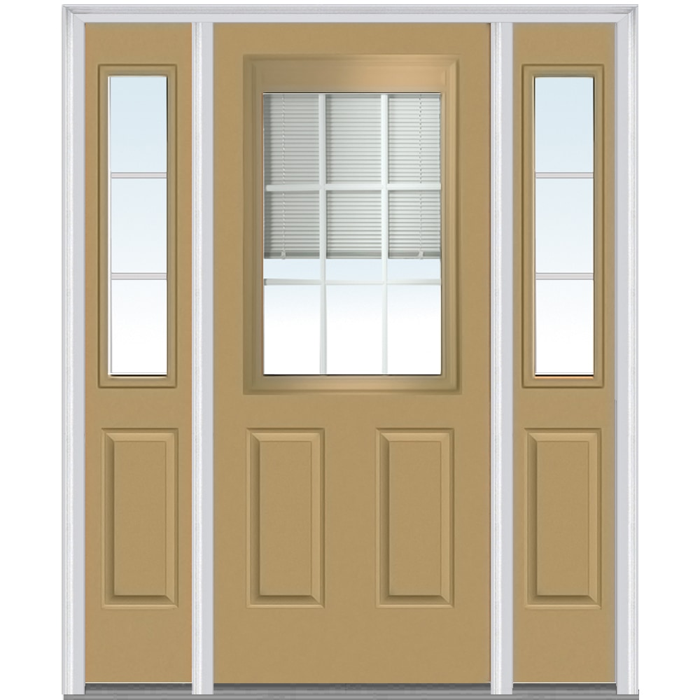 Prefinished fiberglass exterior door top 20 pella exterior for Exterior door companies