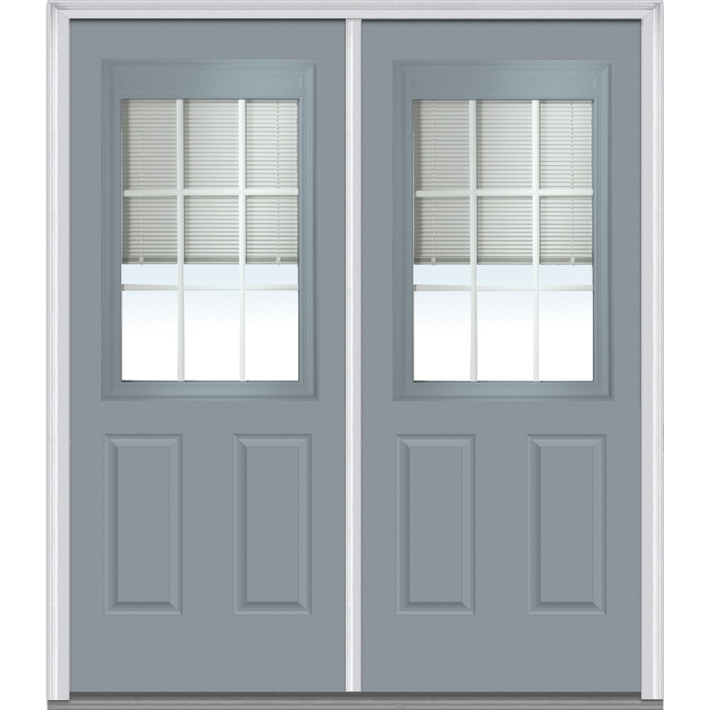 doorbuild internal blinds collection steel prehung door