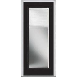 Internal Blinds Collection - Steel Prehung Door - Black / 37.5 x81.75  / Fu .  sc 1 st  BuildDirect & Exterior Doors   BuildDirect® pezcame.com