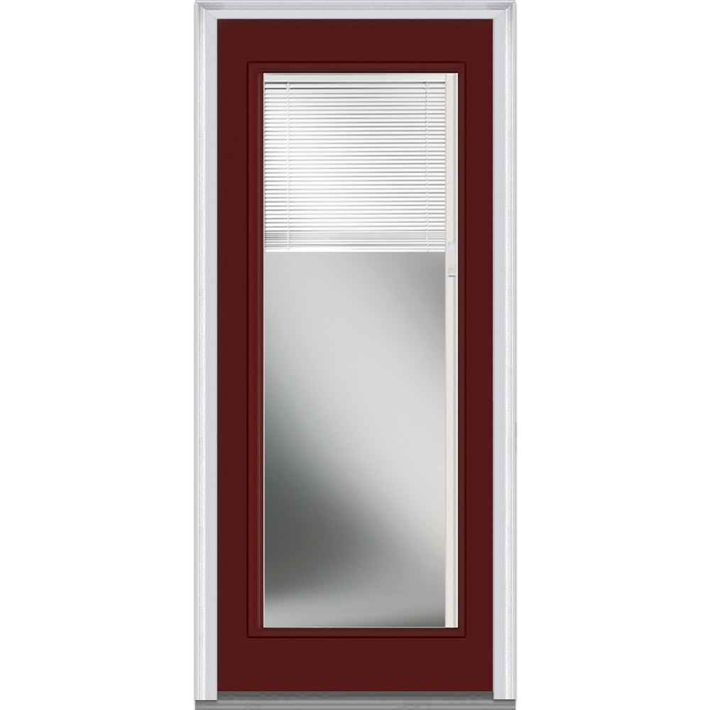 Doorbuild internal blinds collection fiberglass smooth for Commercial entry doors