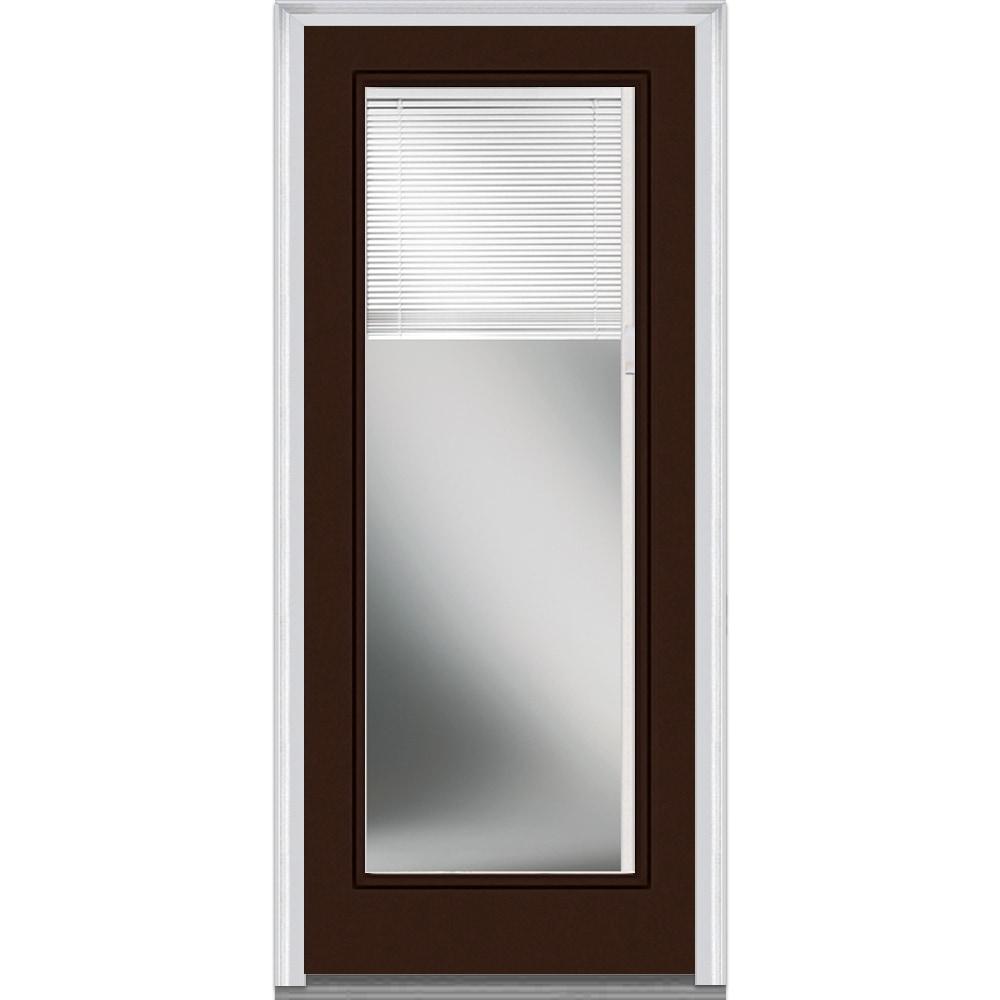 Entry Doors Product : Doorbuild internal blinds collection fiberglass smooth