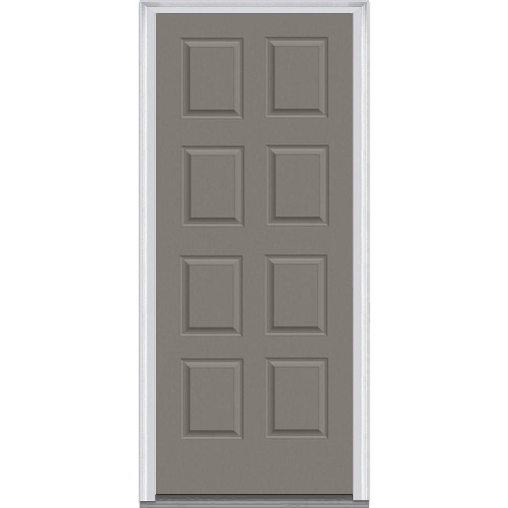Doorbuild Exterior Panel Collection Steel Prehung Entry Door