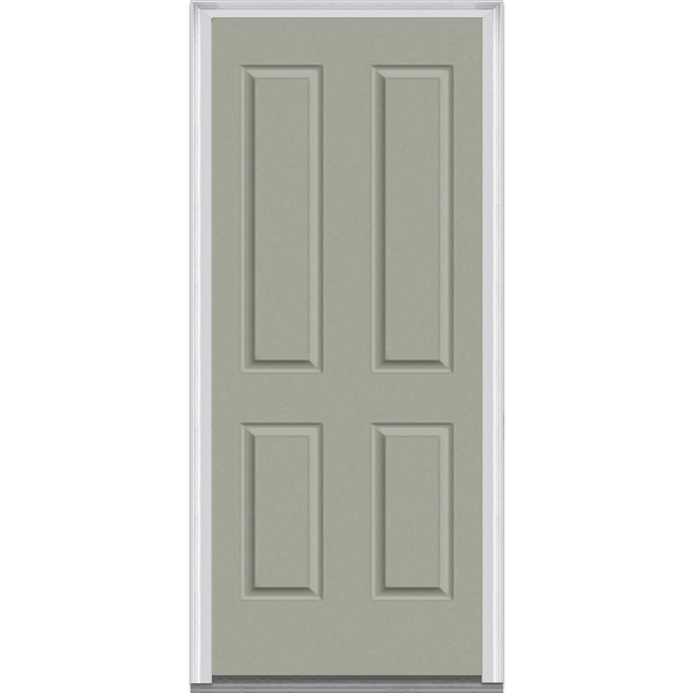 Exterior Doors Product : Doorbuild panel collection fiberglass smooth prehung