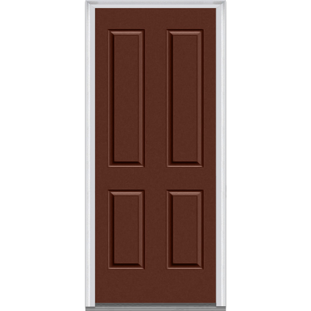 Doorbuild panel collection fiberglass smooth prehung for Prehung exterior door