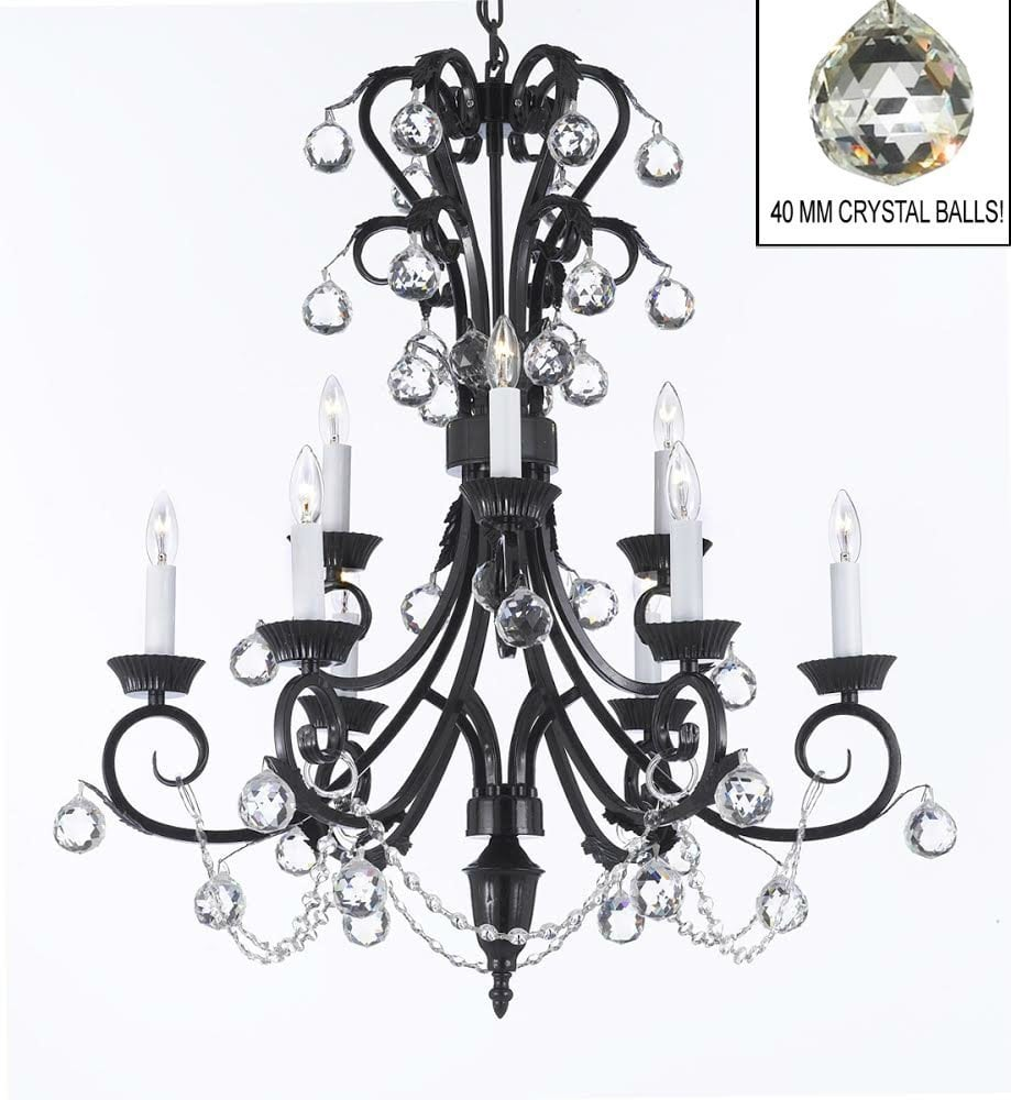 A84-B6/724/6+3 / LED Compatible / Indoor / 9 Lights Chandeliers 0