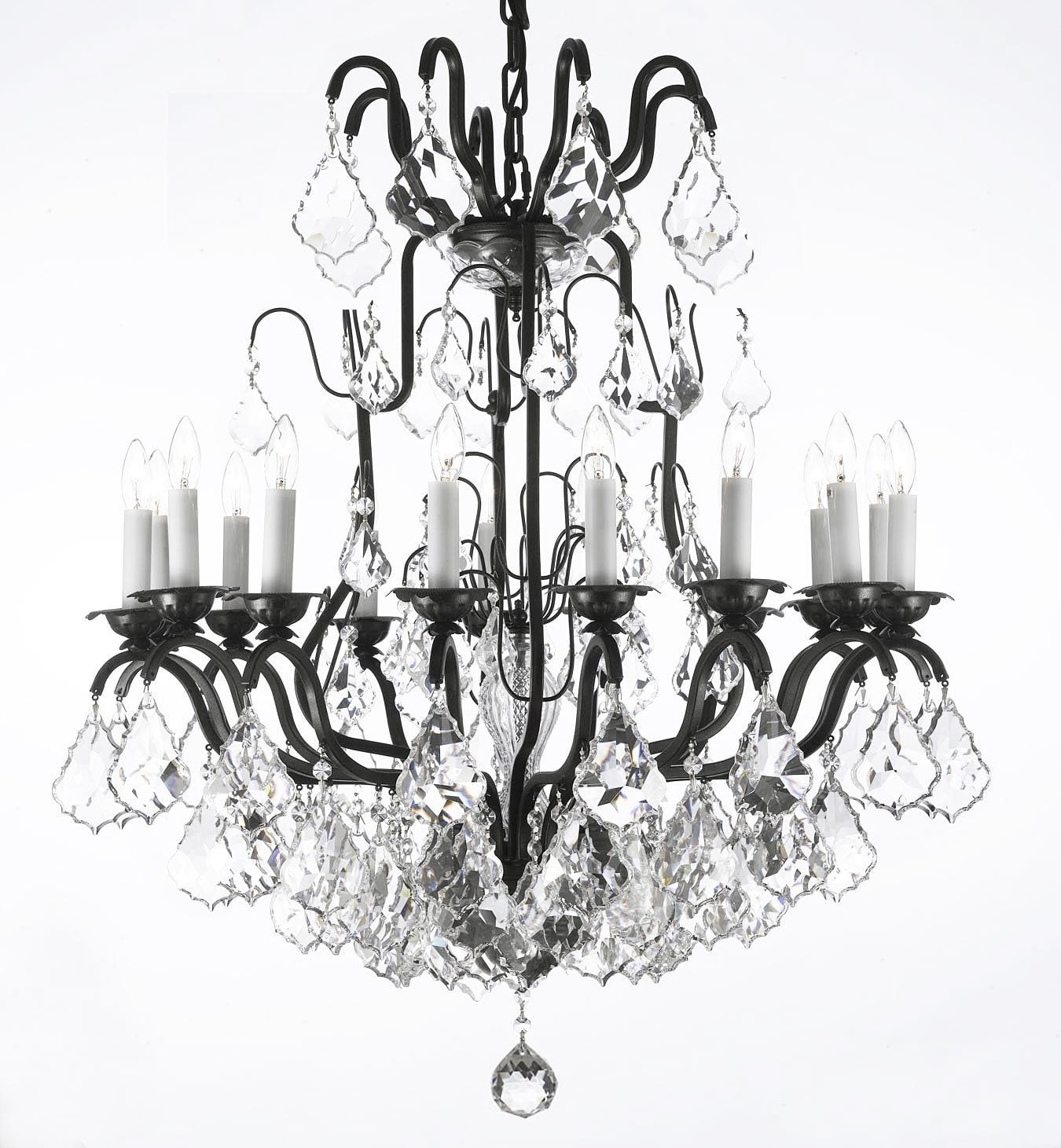 A83-3003/16SW / LED Compatible / Indoor / 16 Lights Chandeliers 0