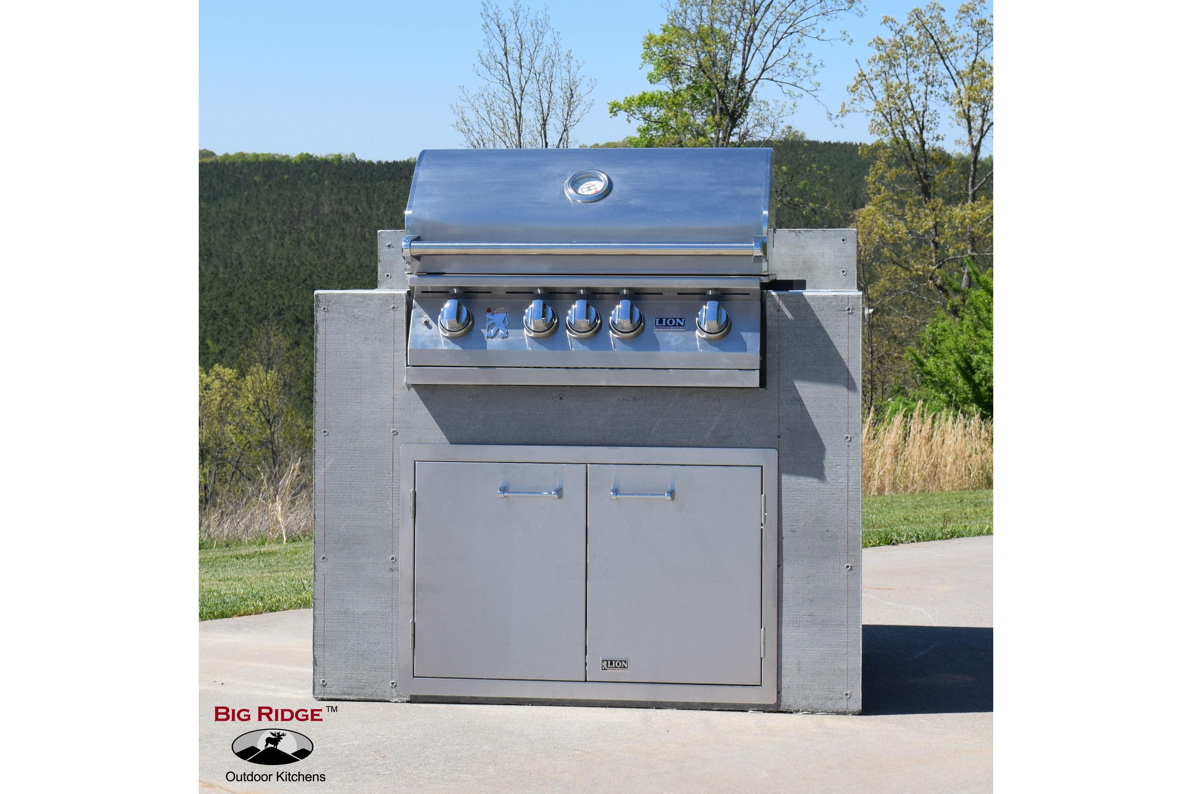 Big Ridge Outdoor Kitchens Outdoor Kitchen Modules Natural Gas Grill ...