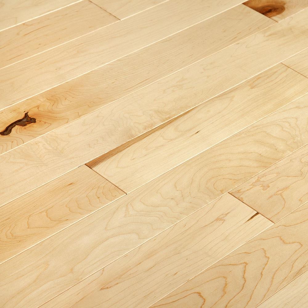 "Natural / Hard Maple / 3 1/4"" / Smooth Hardwood - Ultra Matte Northern Prestige Collection 0"