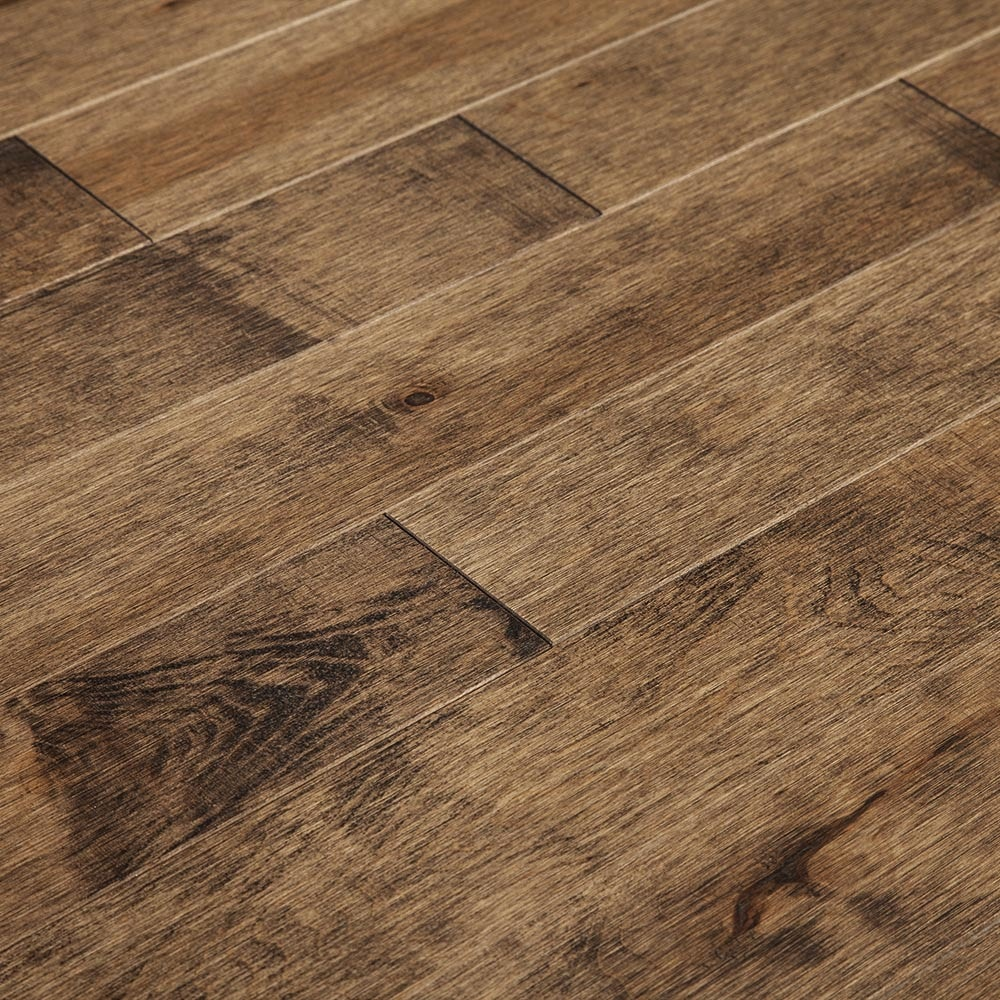 "Garibaldi / Hard Maple / 3 1/4"" / Distressed Hardwood - Ultra Matte Northern Prestige Collection 0"