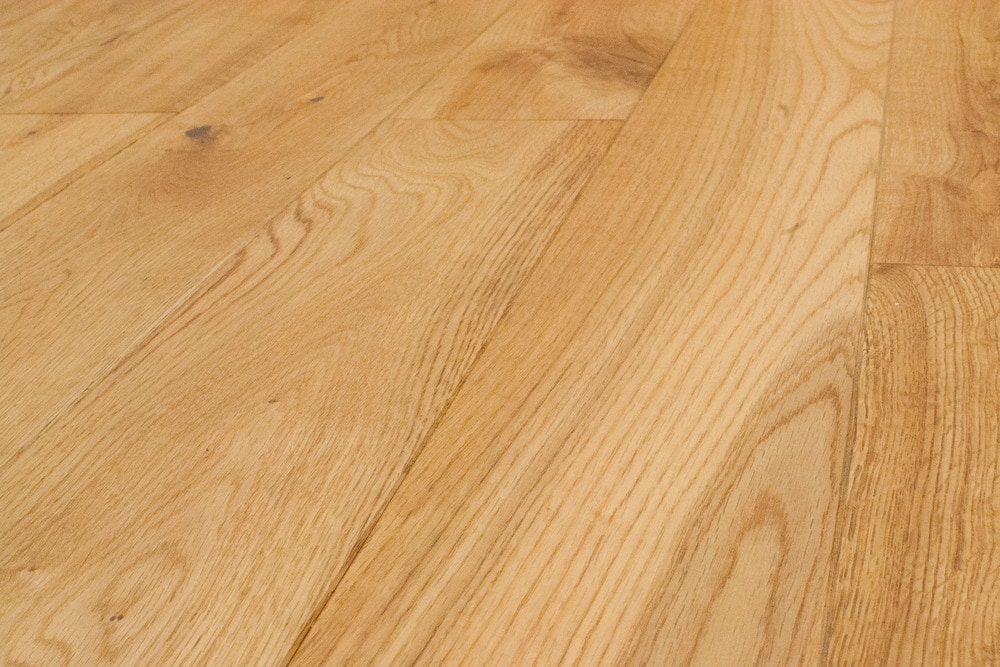 Easiklip solid hardwood flooring white oak natural oak 5 for Unfinished hardwood floors