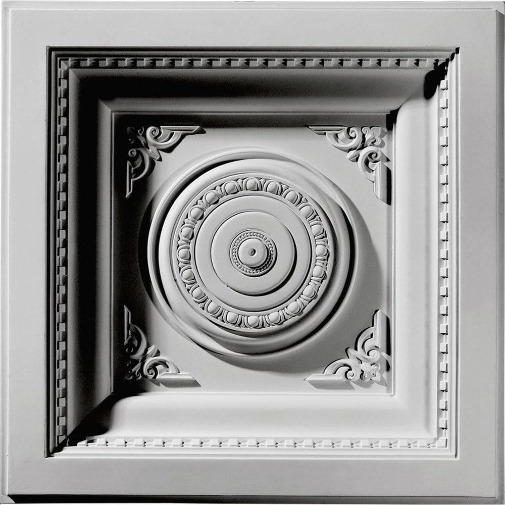 Ekena millwork decorative polyurethane ceiling tiles royal ceiling 15892256e20e25035f8 dailygadgetfo Image collections