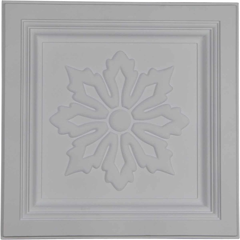 Ekena millwork decorative polyurethane ceiling tiles floral 46315956e20e1caedd9 dailygadgetfo Image collections