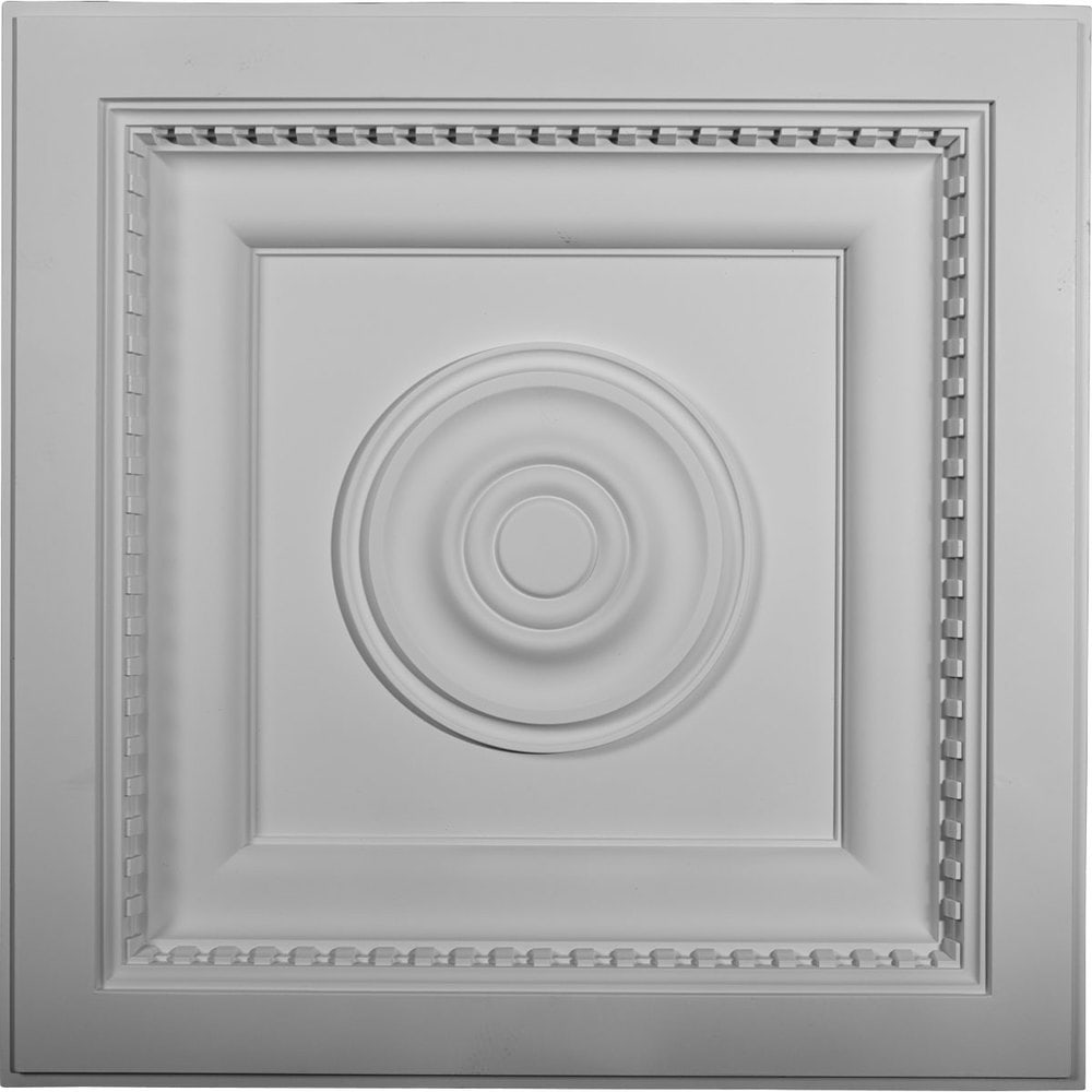 Ekena millwork decorative polyurethane ceiling tiles ashford 48133956e20e100566a dailygadgetfo Image collections
