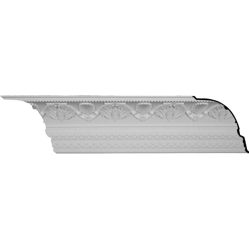 Ekena millwork polyurethane crown moldings cove harvest for 9 inch crown molding