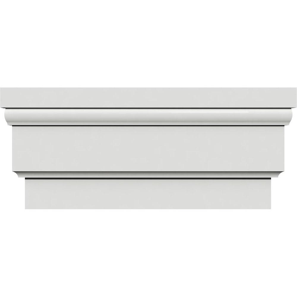 Ekena millwork standard crosshead 12 7 8 h x 1 1 4 p for 12 x 72 window