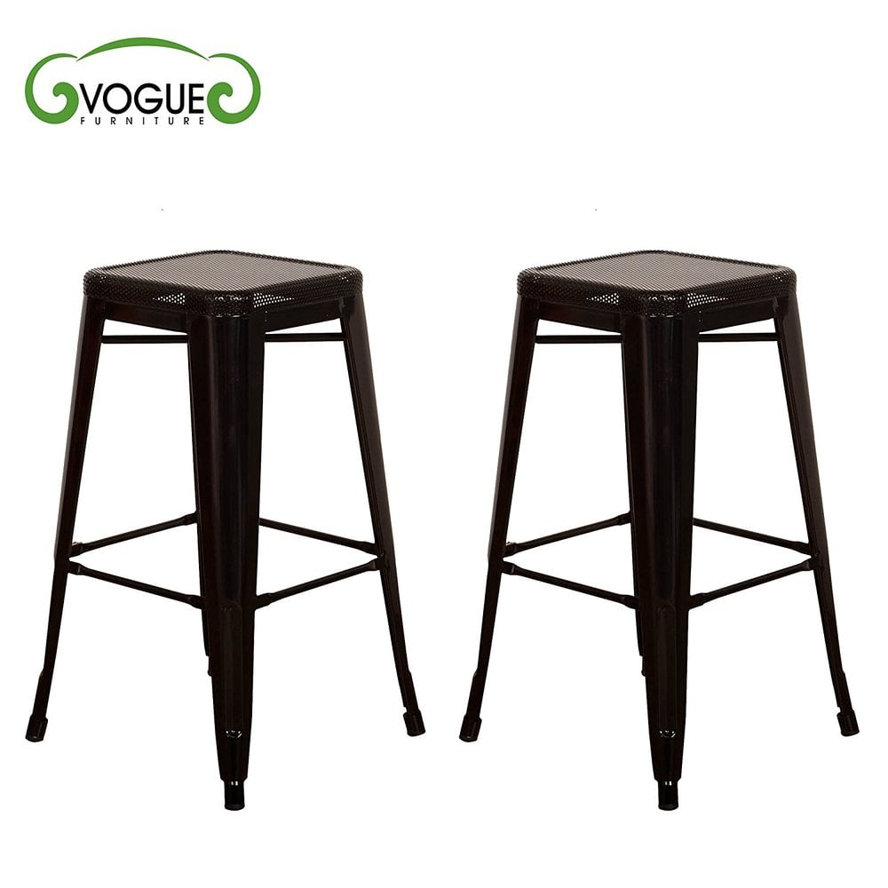 Vogue furniture direct metals30 backless metal stool in for Direct furniture