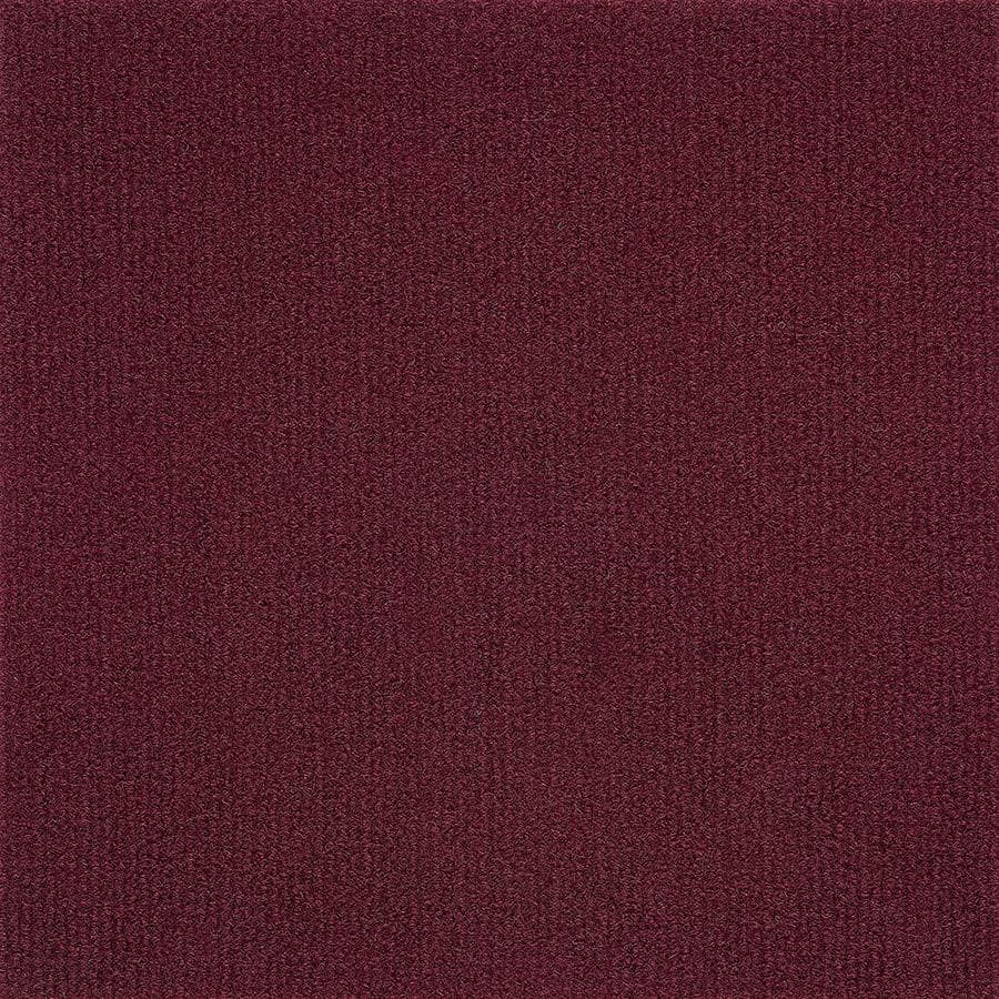 "Burgundy / 12 x 12 Carpet Tiles - 12"" x 12"" - Nexus Collection 0"