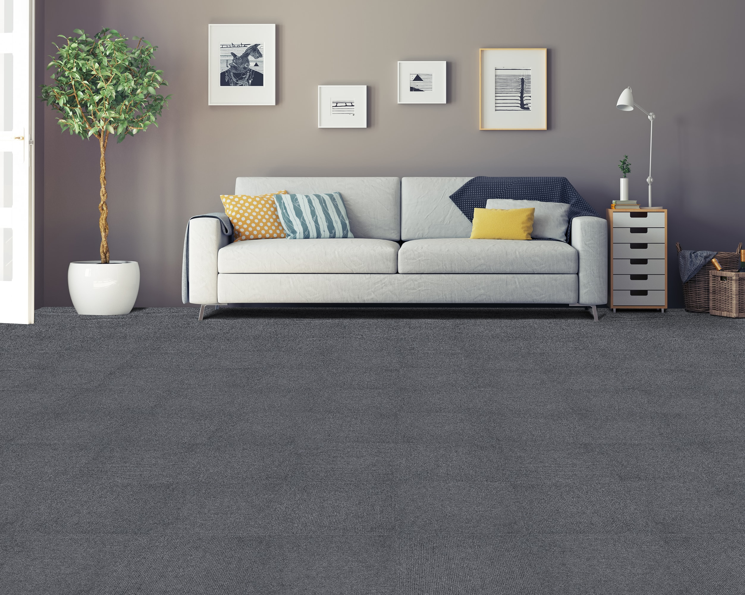 Vesdura Nexus Carpet Tiles 12x12