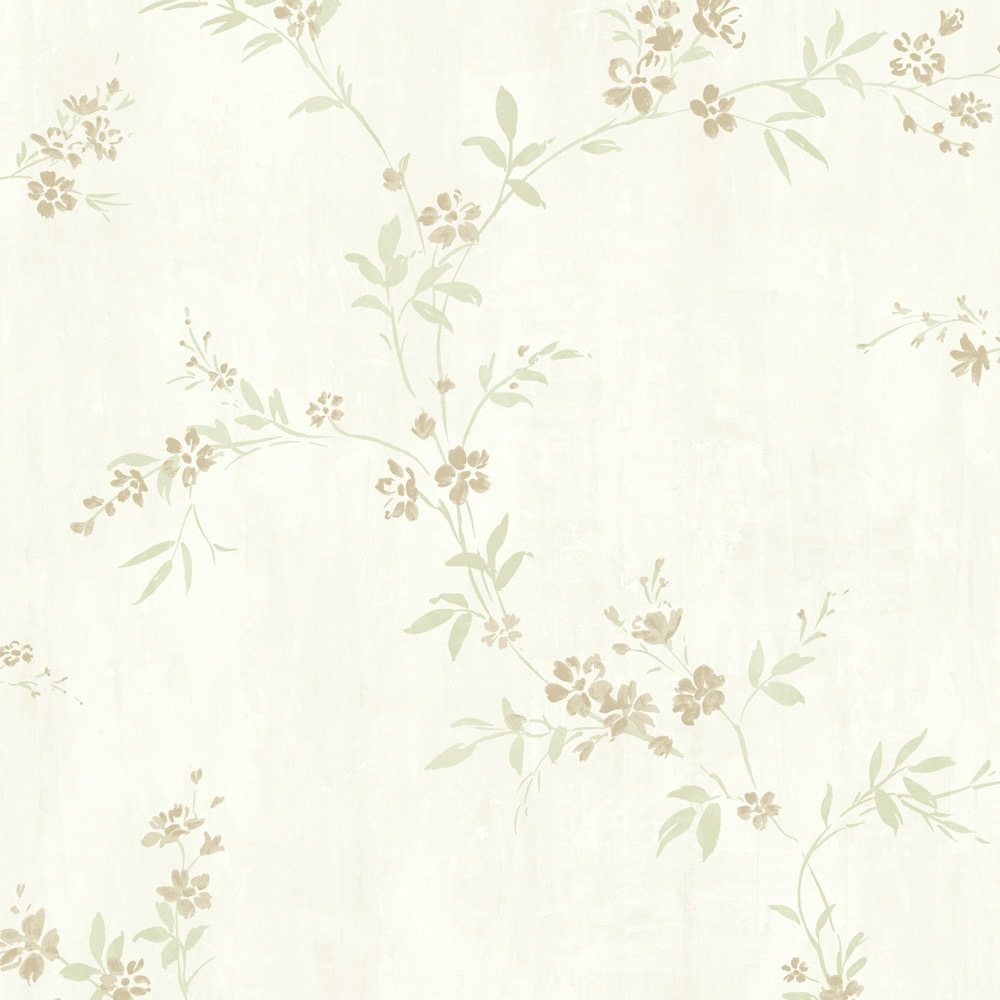 Walls Republic Floral Traditional Classic Metallic Modest Wallpaper