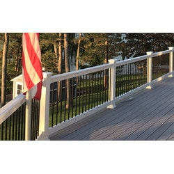 Purchase bottom rail vinyl railing