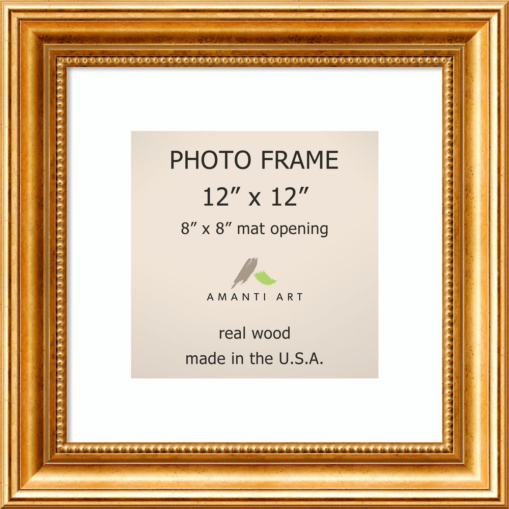Amanti art townhouse gold picture frame12x12 matted 8x8 outer dsw138531657339ccda0f32 jeuxipadfo Choice Image