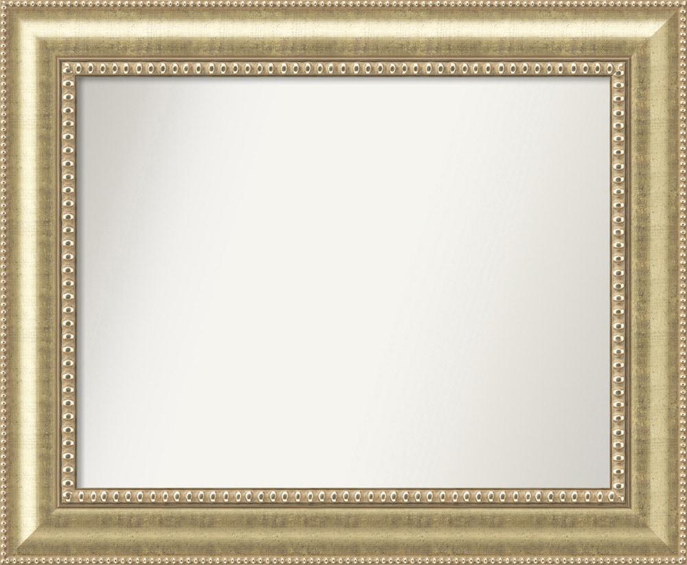 Amanti art wall mirror choose your custom size medium for Mirror 34 productions