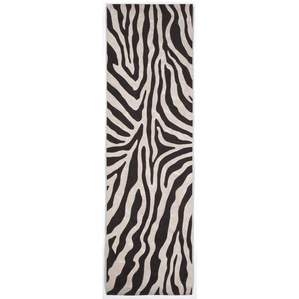Maneck Visions I Collection 'Zebra' Indoor/Outdoor Rug