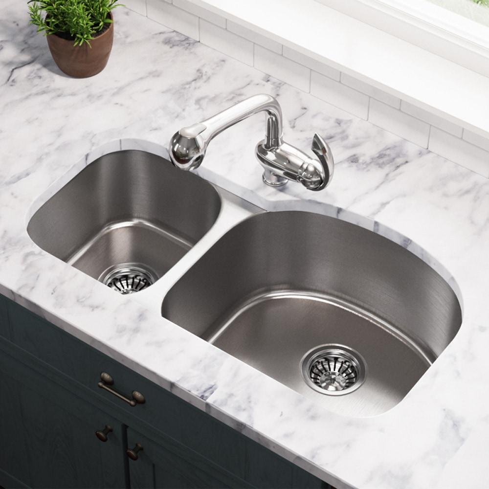 MR Direct Kitchen Sinks 501R-16 / 16 gauge / 8.25