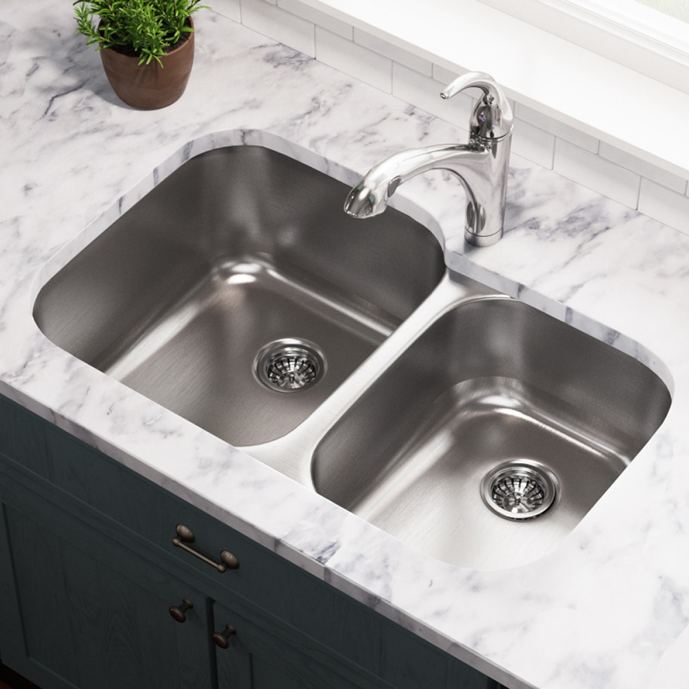 MR Direct Kitchen Sinks 503L-18 / 18 gauge / 9.25