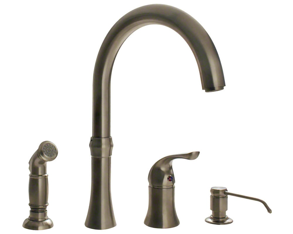 Sir Faucet Kitchen Faucets Modern Brushed Nickel 710 Bn