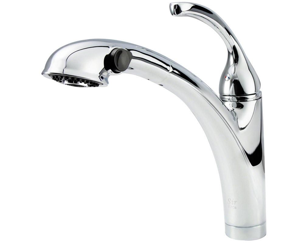 Sir Faucet Kitchen Faucets Modern / Chrome / 710-C