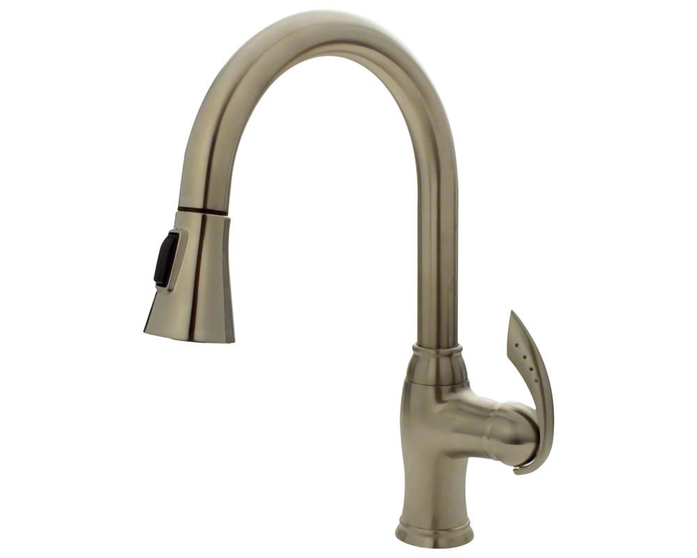 Sir Faucet Kitchen Faucets Modern Brushed Nickel 772 Bn