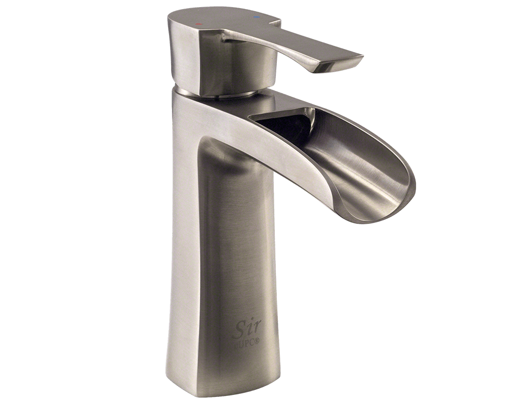 Sir Faucet Bathroom Faucets Modern / Brushed Nickel / 732-BN