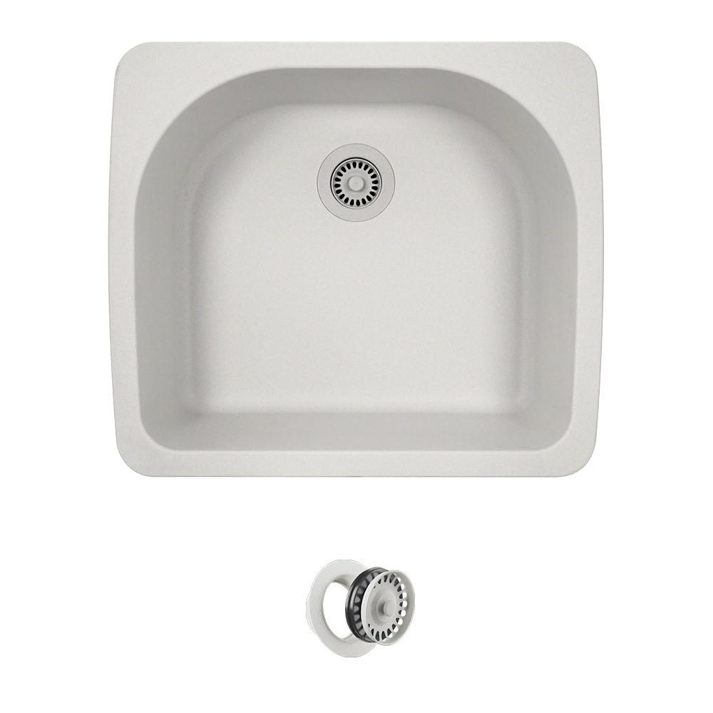 Mr direct top mount trugranite kitchen sink ensembles