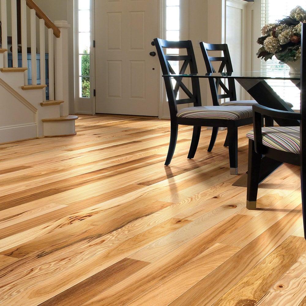 Rustic Wood Flooring Shaw Floors Solid Hardwood Flooring Rustic Hickory Collection