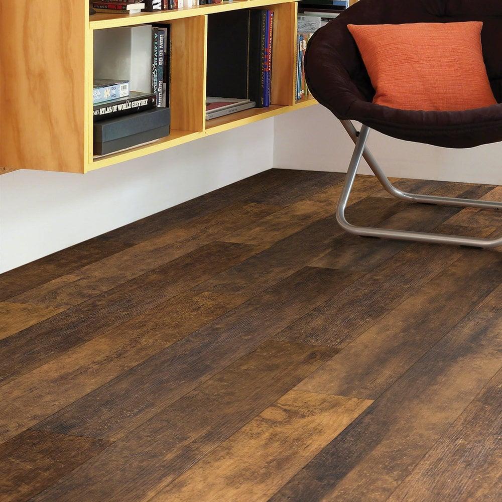 Shaw Floors Vinyl Plank Flooring Devonshire Coffee Bean