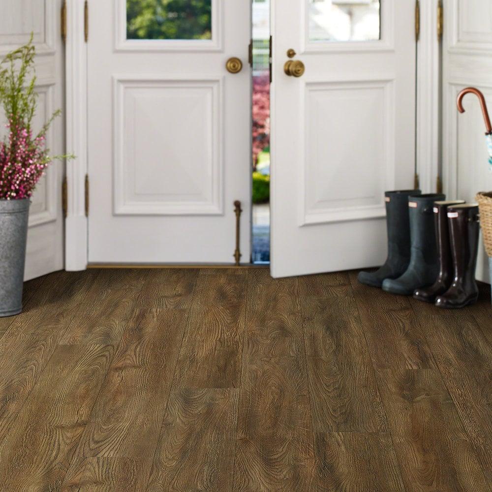"""Kitchen Floor Tiles Vs Vinyl: Elite Antique Oak / 7""""W X 48"""" L / Antique Oak / Direct Glue"""