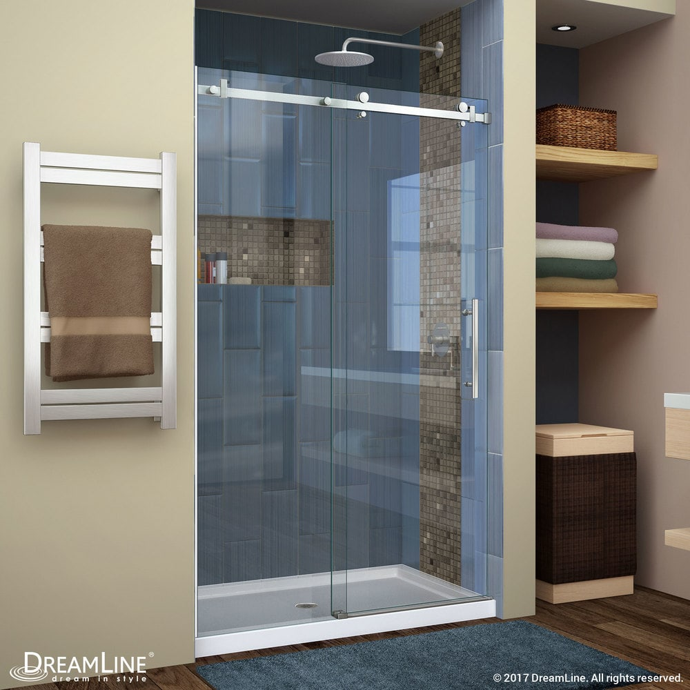 Dreamline Enigma Air 44 48 Frameless Sliding Shower Door Frameless