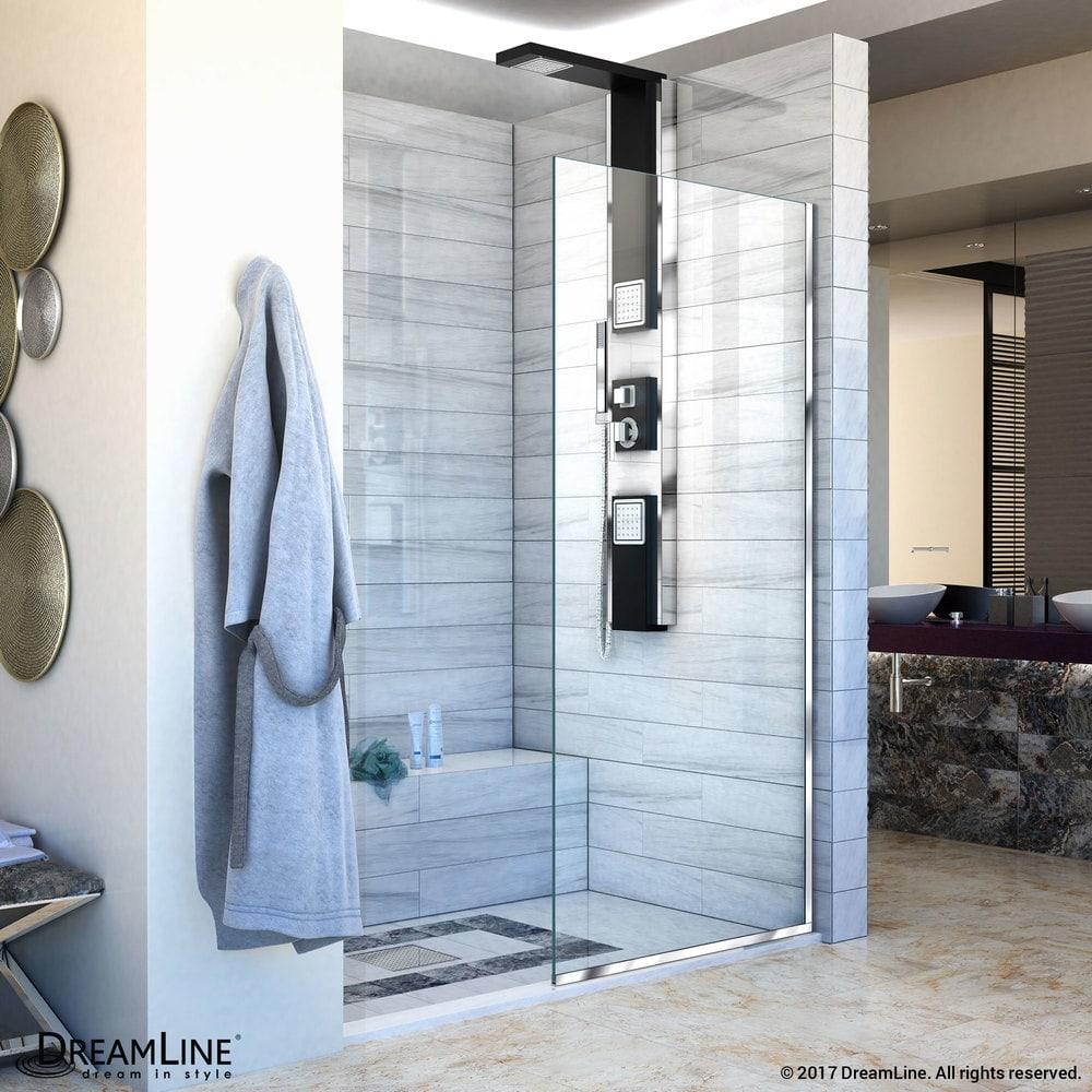 DreamLine Linea Frameless Shower Door 34\