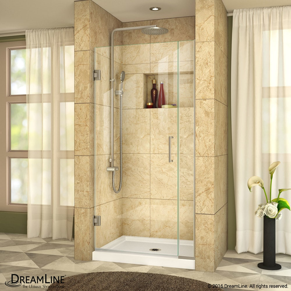 Dreamline Unidoor Plus 31 315 W X 72 H Hinged Shower Door