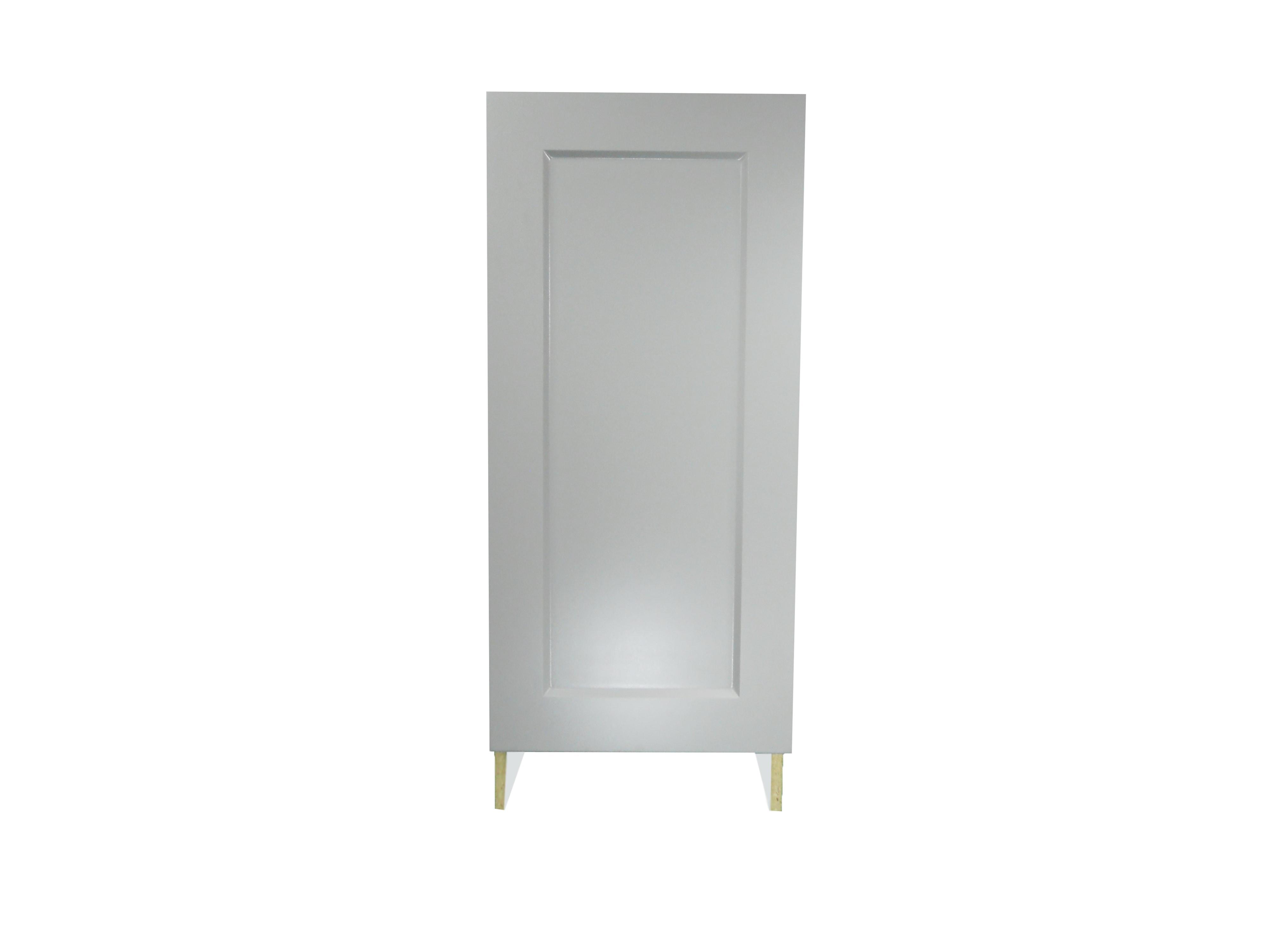 Base Cabinet With Door / Whistler Grey / Flat Panel Grey / 12 Whistler Grey 0