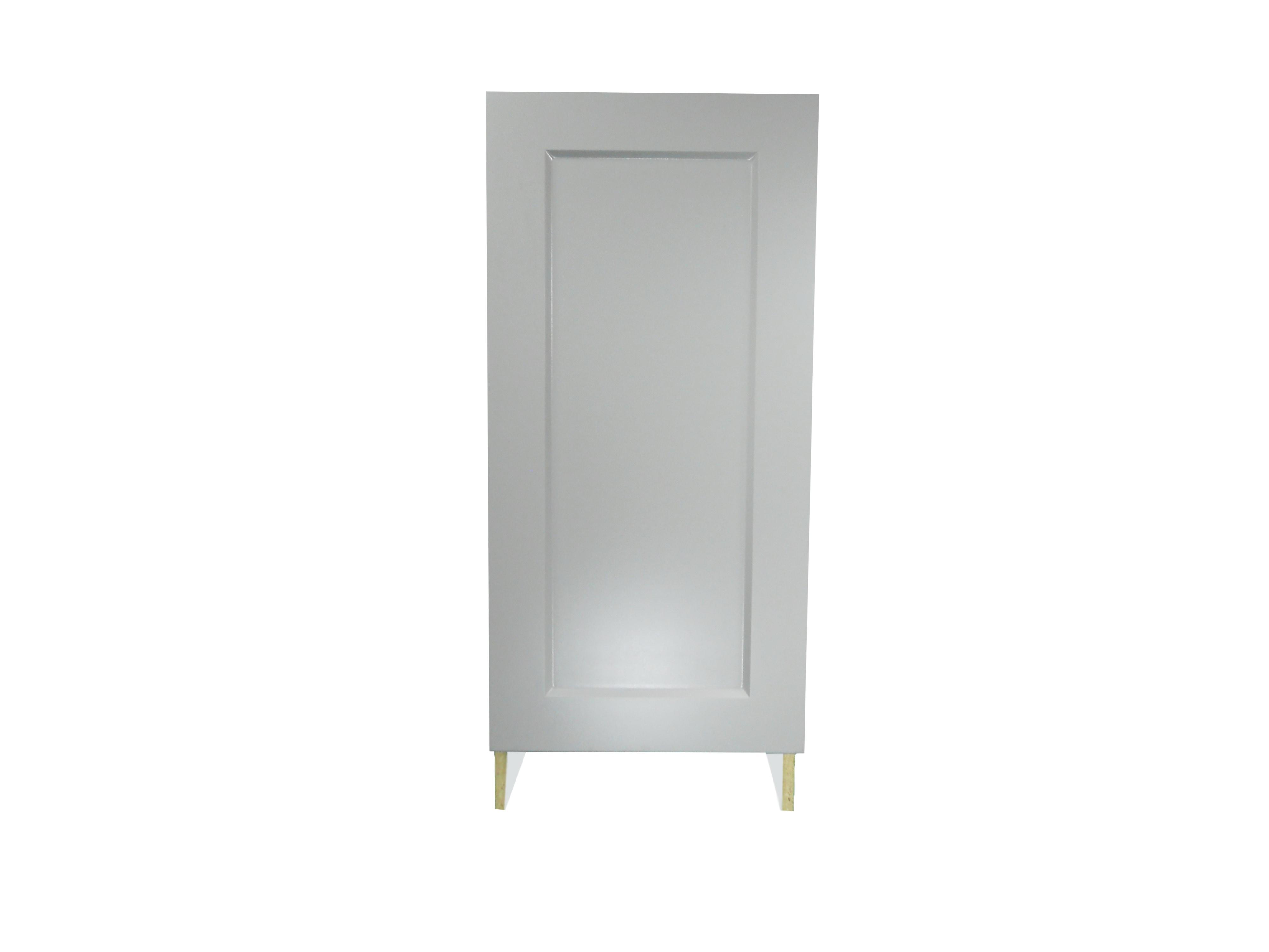 Base Cabinet With Door / Whistler Grey / Flat Panel Grey / 15 Whistler Grey 0