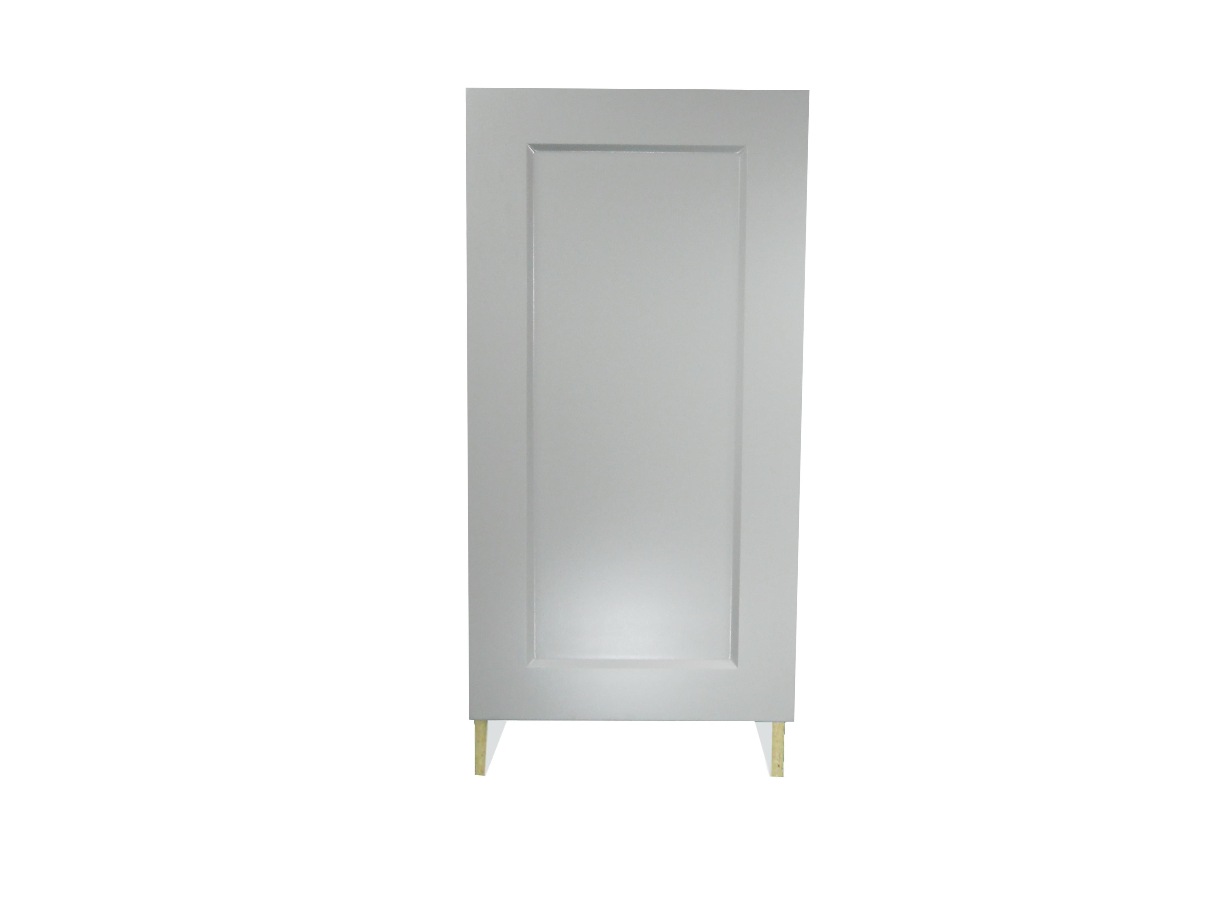 Base Cabinet With Door / Whistler Grey / Flat Panel Grey / 18 Whistler Grey 0